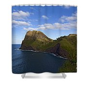 Nakalele Point-signed-#8497 Shower Curtain