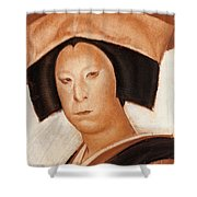 Nakamura Utaemon V Shower Curtain