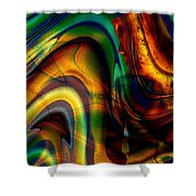 Naked Breeze Shower Curtain