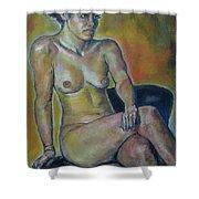Naked Suri 1 Shower Curtain
