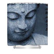 Namaste Buddha Shower Curtain
