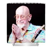 Namaste From Pete Fountain Shower Curtain