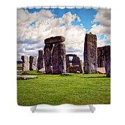 Nancy's Stonehenge Shower Curtain