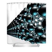 Nanotube #19 Shower Curtain