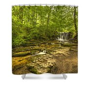 Nant Mill  Shower Curtain