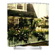 Nantucket Cottage Shower Curtain