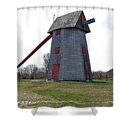 Nantucket Old Mill Shower Curtain