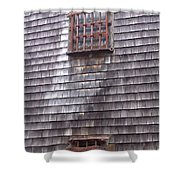 Nantucket Olde Gaol Windows Shower Curtain