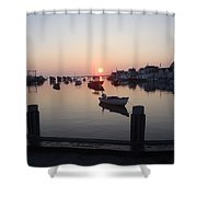 Nantucket Sunrise 1 Shower Curtain