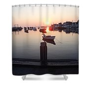 Nantucket Sunrise 2 Shower Curtain