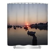 Nantucket Sunrise Shower Curtain