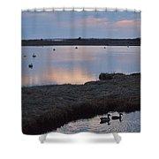 Nantucket Sunset Shower Curtain