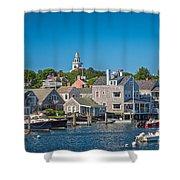 Nantucket Town Shower Curtain