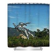 Napa Bunny Shower Curtain