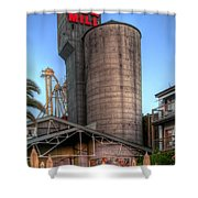 Napa Mill II Shower Curtain by Bill Gallagher