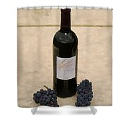 Napa Still Life Shower Curtain by Paul Tagliamonte