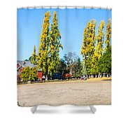Napa Working Farm Shower Curtain