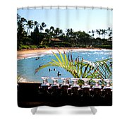 Napili Bay Maui Hawaii Shower Curtain