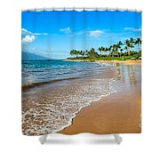Napili Beach Paradise Shower Curtain