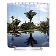 Naples Botanical Garden  3083 Shower Curtain
