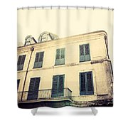 Napolean House Shower Curtain