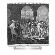 Napoleon At Jaffa, 1799 Shower Curtain