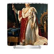 Napoleon Bonaparte Shower Curtain