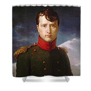Napoleon Bonaparte Premier Consul Shower Curtain