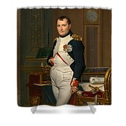 Emperor Napoleon In His Study At The Tuileries Shower Curtain