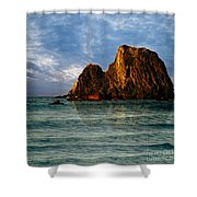 Narooma Again Shower Curtain