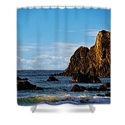 Narooma Beach Shower Curtain