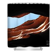 Narrow Canyon Vi Shower Curtain