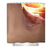 Narrow Canyon Vii Shower Curtain