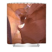 Narrow Canyon Viii - Antelope Canyon Shower Curtain