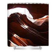 Narrow Canyon X Shower Curtain