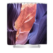 Narrow Canyon Xii Shower Curtain