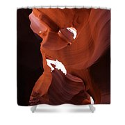 Narrow Canyon Xiv Shower Curtain