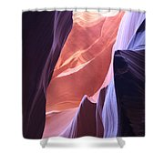 Narrow Canyon Xvi - Antelope Canyon Shower Curtain