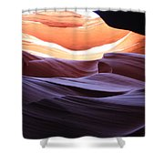 Narrow Canyon Xviii Shower Curtain