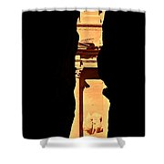 Narrow Is The Way Shower Curtain
