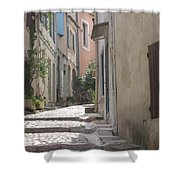 Narrow Lane - Arles Shower Curtain