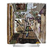 Narrow Street Shower Curtain