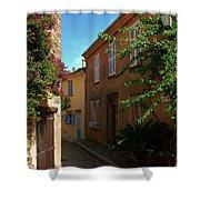 Narrow Street In The Village Shower Curtain