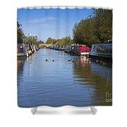 Narrowboats Shower Curtain