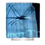 Nashville Dragonfly Shower Curtain