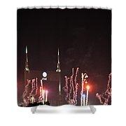 Nashville Fireworks 2014 Close Up Shower Curtain