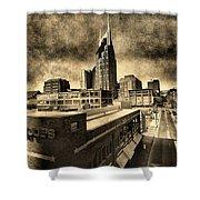 Nashville Grunge Shower Curtain