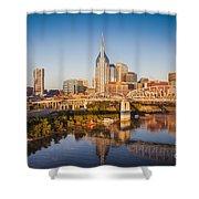Nashville Morning Shower Curtain
