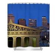 Nashville Parthenon Shower Curtain