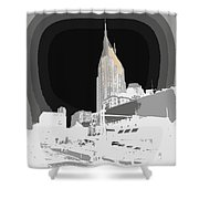 Nashville Touched In Color Shower Curtain